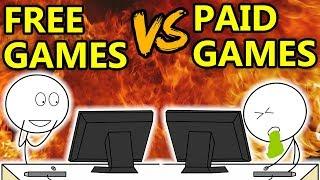 Video Free Games VS Paid Games MP3, 3GP, MP4, WEBM, AVI, FLV September 2017