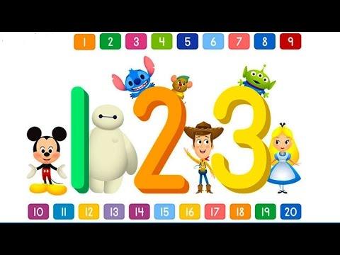O Rato Mickey | Disney Buddies 123s Disney Lets Learn Numbers - Preschool Learning | ZigZag