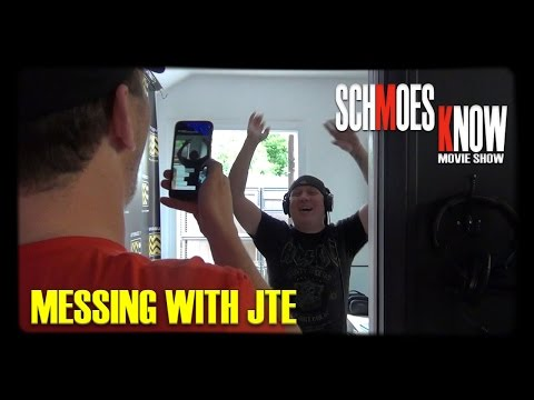 Messing With JTE (Behind-the-Scenes)