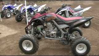 9. 2013 Yamaha Raptor 700 ATV Review
