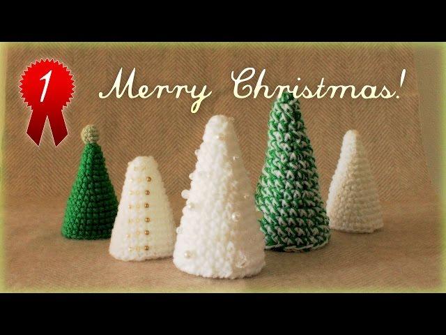 【diyクリスマス】手縫いツリーの簡単な作り方・編み方が激かわ♪