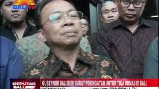 Download Video GUBERNUR BALI BERI SURAT PERINGATAN UNTUK TIGA ORMAS DI BALI MP3 3GP MP4