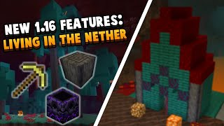 HUGE 1.16 Change: You Can Officially Live In The Nether Now