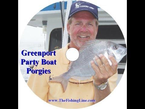 Party Boat Porgy Fishing Greenport, NY