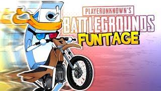 PUBG FUNTAGE! - Motorbike MADNESS