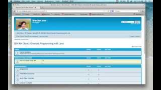 OO Programming In Java - Lecture 1 (1/19/13)
