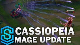 Thông tin chi tiết về bộ kỹ năng mới của Cassiopeia