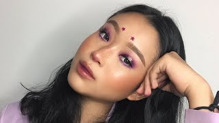 Video PURPLE HALO EYES TUTORIAL plus starz hehe MP3, 3GP, MP4, WEBM, AVI, FLV Mei 2019