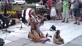 Seruling suku Apache - Mohicano Alexandro Querevalu