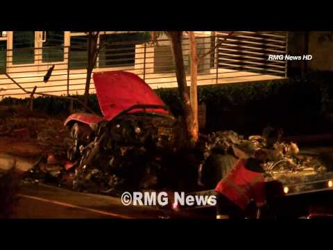 Paul Walker and Roger Rodas fatal Porsche crash from Nov 2013.