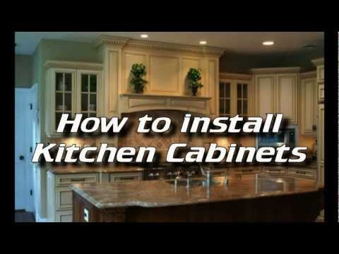 how to fasten kitchen cabinets together