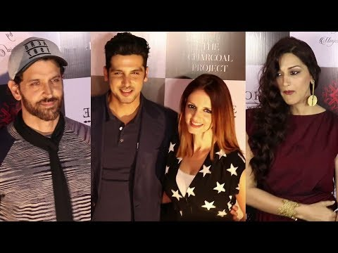 Hrithik Roshan With Ex Wife Sussanne Khan At The L