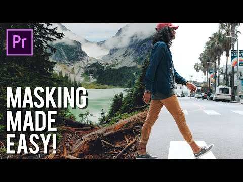 Easy Masking In Adobe Premiere Pro - Transition Effect