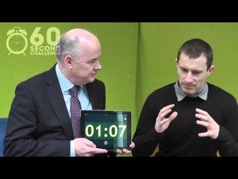 Richard Kerr, Think North takes the 60 Second Challenge