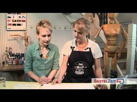 Bastelzeit TV 12 - Part 1 - Acrylmalerei