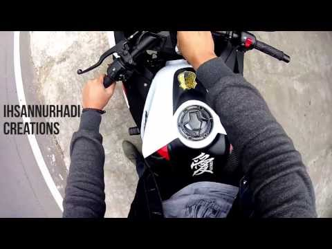 Drift HD Ghost: Kawasaki Ninja 250 Fi - Lembang Ride