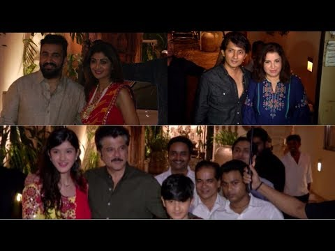 Anil Kapoor Host Karva Chauth Party, Many Celebrities Arrived