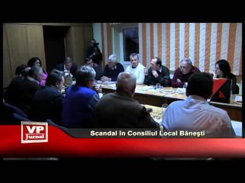 Scandal in Consiliul Local Banesti