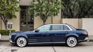 Mercedes przy którym szczena odpada! Mega kozacki tuning S600 w stylu lat 50 i 60!