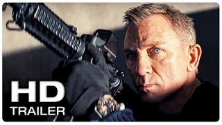 JAMES BOND 007 NO TIME TO DIE Trailer #1 Official (NEW 2020) Daniel Craig Action Movie HD