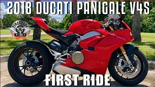 8. 2018 Ducati Panigale V4S | First Ride and Review!