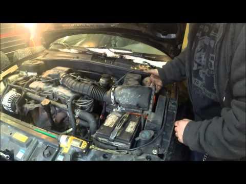 2.2 liter sohc Pontiac sunfire air filter replacement