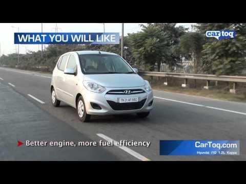 Hyundai i10 1.2L Kappa  Petrol engine Video Review by CarToq.com