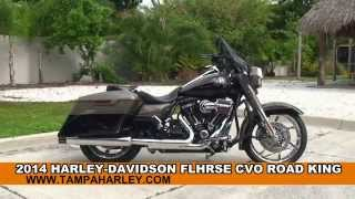 4. New 2014 Harley Davidson CVO Road King Motorcycles for sale - Hudson, FL