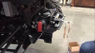 7. Installing a WARN Front Plow Mount on a Kawasaki 2015 - 2016 Mule PRO FXT