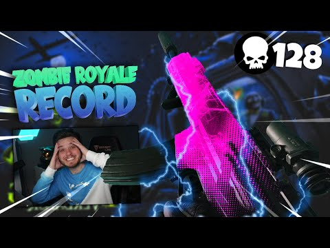 NEW WORLD RECORD IN WARZONE - ZOMBIE ROYAL (128 KILL GAME)! COD: Warzone Gameplay
