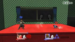 How every Lil Mac v Ganondorf should go. SUUPREEEEMME LAG COMBOOOO