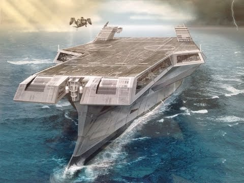 Future Of Super Aircraft Carrier Concepts (видео)