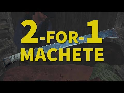 1 Swing 2 Kills (Machete) - Hunt: Showdown + Bonus Gameplay