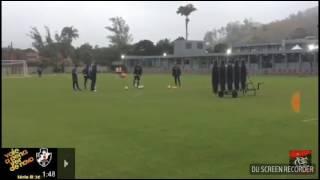 Rafael Vaz marca belo gol de falta em treino