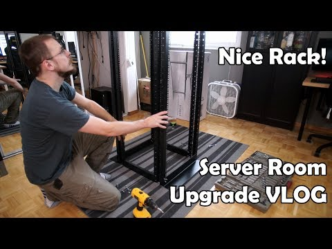 Server 'Room' Rebuild Work-vlog