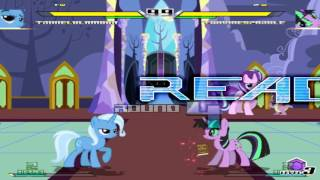 Mugen Fighting Is Magic Trixie Lulamoon VS Twivine Sparkle