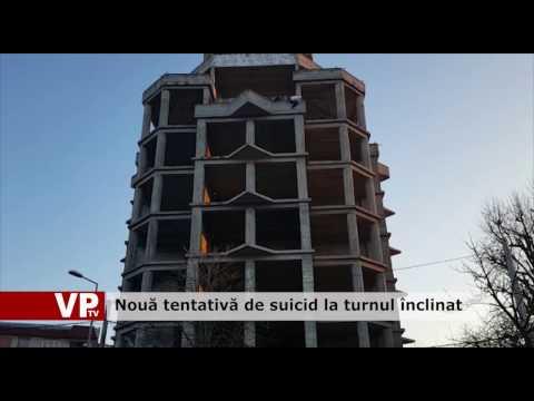 Nouă tentativă de suicid la turnul înclinat