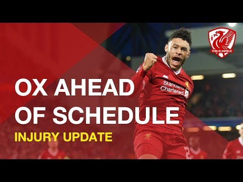 "Alex Oxlade-Chamerblain Injury Update: ""The Best News"" Says Klopp"