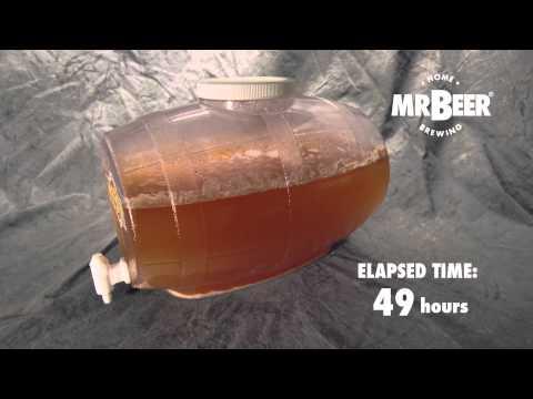 , title : 'Mr.Beer - Fermentation - Time Lapse Video'