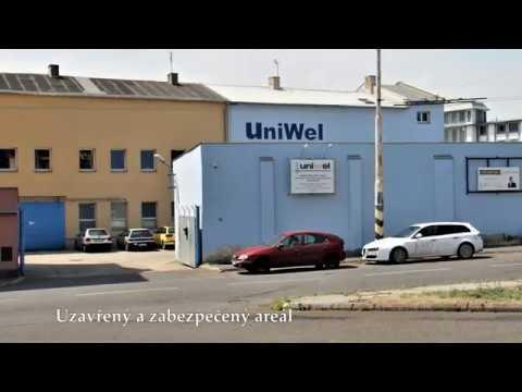 Prohlídka pronájmu výrobních prostor, Teplice - Trnovany