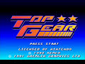 Super Nintendo  Top Gear - Track 1
