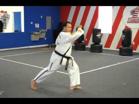 image for ATA TKD Songahm 2 8th Grade Orange Belt Form