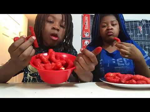 Video Hot Cheetos and Takis challenge  with Aisha Nation download in MP3, 3GP, MP4, WEBM, AVI, FLV January 2017