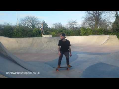 Alexandra Park Skatepark, Edgeley, Stockport (видео)