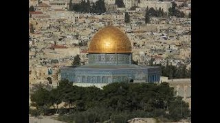 DOME OF THE ROCK TEMPLE UFO SIGHTING - EXTREME CLOSE-UP - IN JERUSALEM - 2011