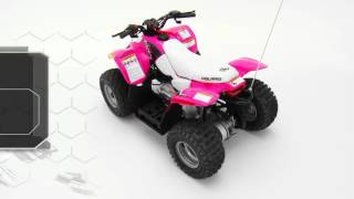 10. Polaris Outlaw 50 Youth ATV