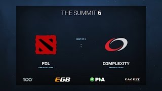 compLexity vs FDL, Game 2, The Summit 6 Qualifiers, America