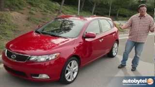 2013 Kia Forte SX 5-Door Hatchback Test Drive&Compact Car Video Review