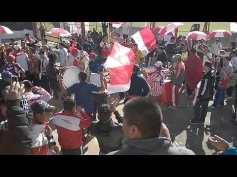 Los Andes 2-1 Atletico Parana. La Descontrolada - La Banda Descontrolada - Los Andes