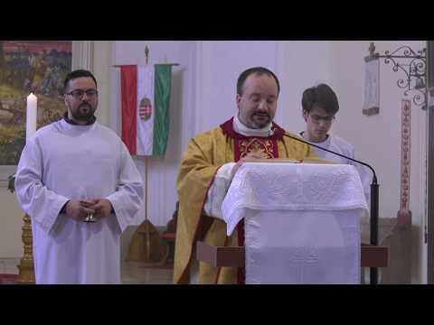 Húsvéti szentmise Nagyatádon